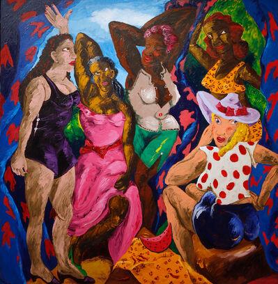 Robert Colescott, 'Les Demoiselles d'Alabama: Vestidas', 1985