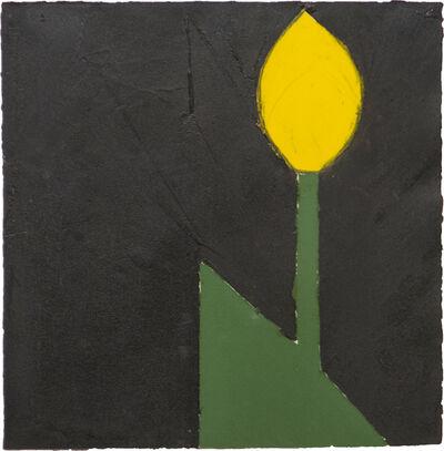 Donald Sultan, 'Yellow Tulip #18', 1980