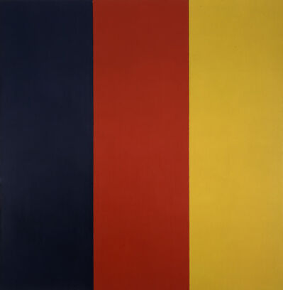 Brice Marden, 'Red Yellow Blue III', 1974