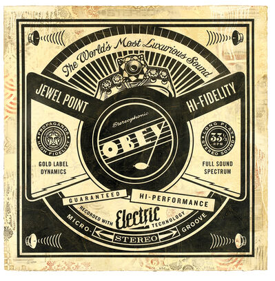Shepard Fairey, 'Luxurious Sounds  (Edition 4/10)', 2013