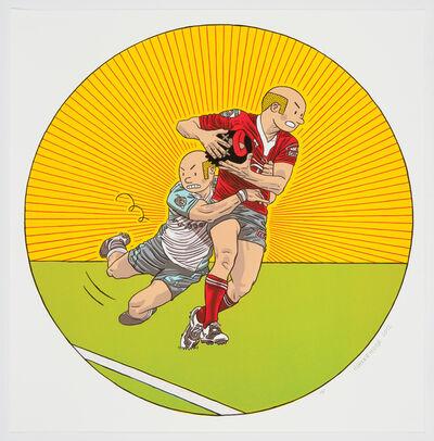 Anton Kannemeyer, 'Rugby', 2013