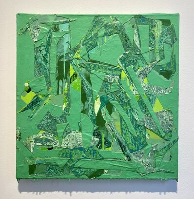 Christina Zurfluh, 'Green in green', 2018-2019