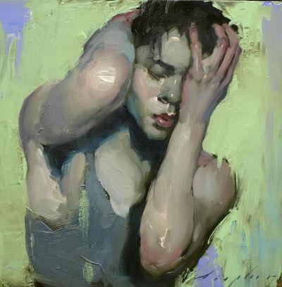 Malcolm T. Liepke, 'Clutching His Head', 2017