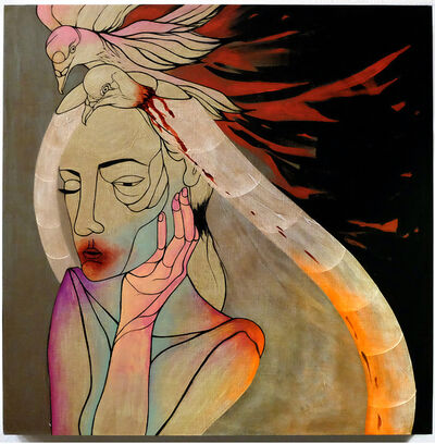 Jennifer Caviola (CAKE), 'Pigeon Bride', 2013-2014