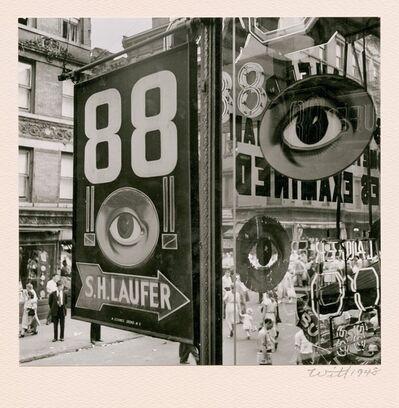 Bill Witt, 'The Eye, Lower East Side, NYC ', 1948