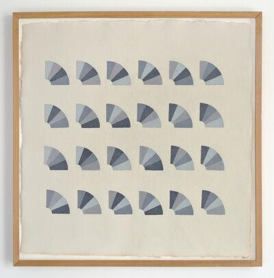Elaine Reichek, 'Fan Factorial Drawing 3', 1977