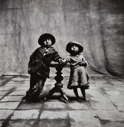 Irving Penn, 'Cuzco Children, Peru', 1948-printed 1975