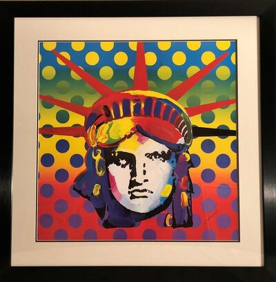Peter Max, 'Liberty Head 2003 - Limited Edition Lithograph by Peter Max', 2003