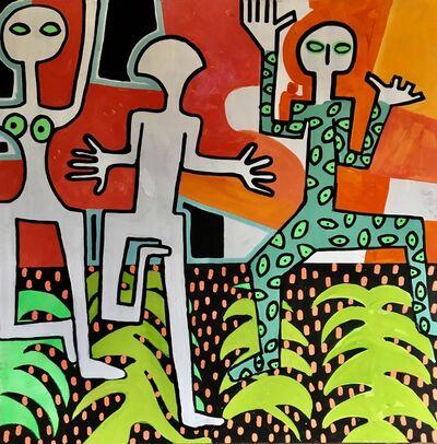 Frantisek Florian, 'African Figures 7', 2019