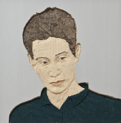 Stephan Balkenhol, 'Man with green shirt', 2010