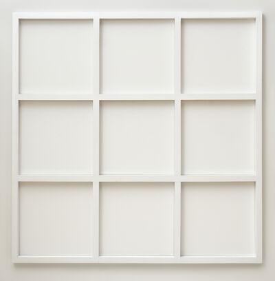 Sol LeWitt, 'Wall Grid (3 x 3)', 1966