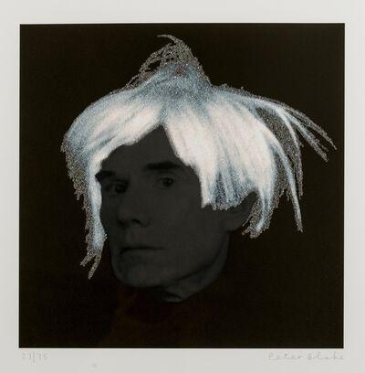 Peter Blake, 'Andy Warhol'