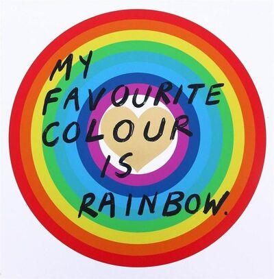 Adam Bridgland, 'My Favourite Colour Is Rainbow (Gold Heart)', TBC