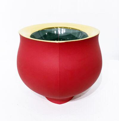 Peter Pincus, 'Red Bowl', 2018