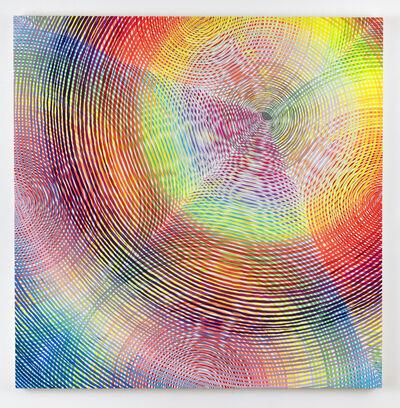 Andrew Schoultz, 'Defiant Spectrum (Eye)', 2018