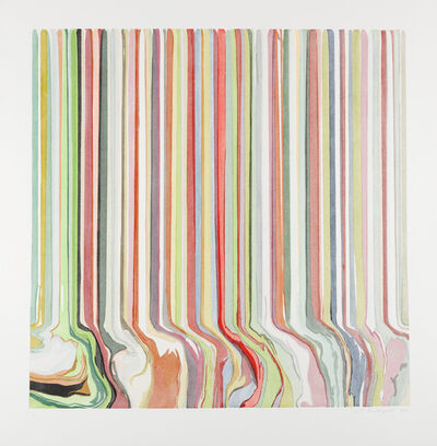 Ian Davenport, ' Spring Ghost 'Ware'', 2019