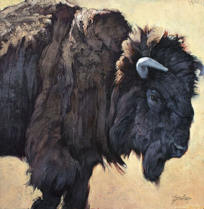 Jill Soukup, 'Bison Bull No. 5', 2019