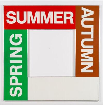Timm Ulrichs, 'The 4 Seasons ', 1967-1971