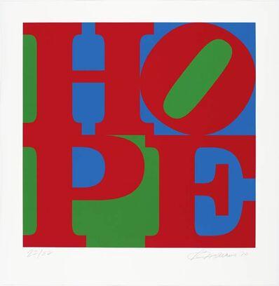 Robert Indiana, 'HOPE', 2010