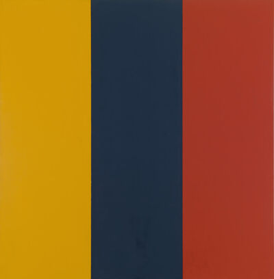 Brice Marden, 'Red Yellow Blue II', 1974