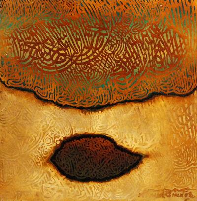 "Ahmed Khan, 'untitled ""calligraphy""', 2008"