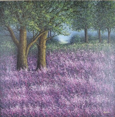 Narate Kathong, 'The Season Of Love - Lavender Garden I ', 2010