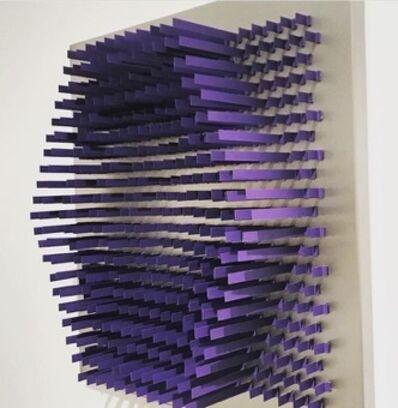 Daniel SAMPER, 'Untitled (Purple)', 2017