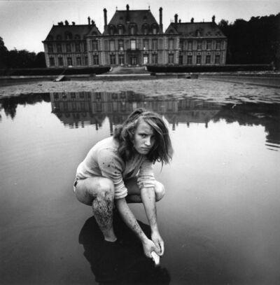 Arthur Tress, 'Girl Collecting Gold Fish, France', 1974/2006c