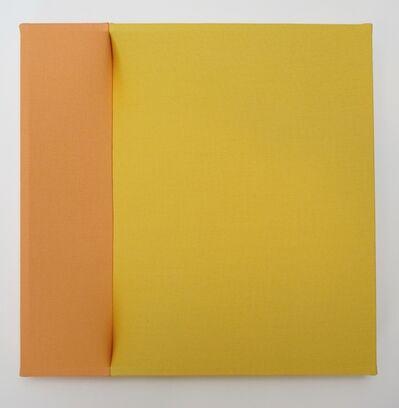 Nobuko Watanabe, 'orange and yellow', 2016