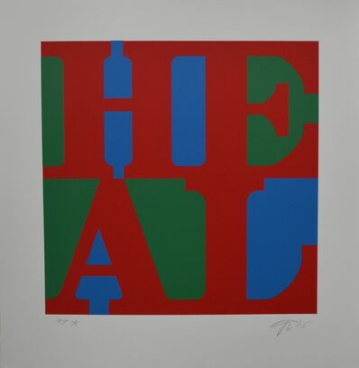 Robert Indiana, 'HEAL', 2015