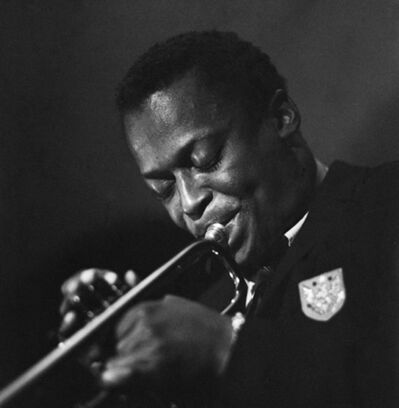 Herman Leonard, 'Miles Davis, Birdland, New York', 1949