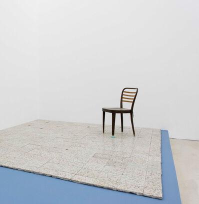 Gian Maria Tosatti, '5_I fondamenti della luce - archeologia (sedia con vetri) ', 2015