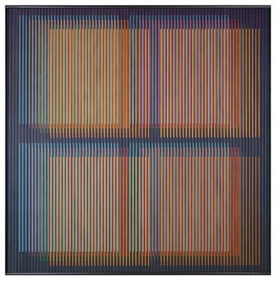 Carlos Cruz-Diez, 'Chromointerference Spatiale Paris 2', 2014