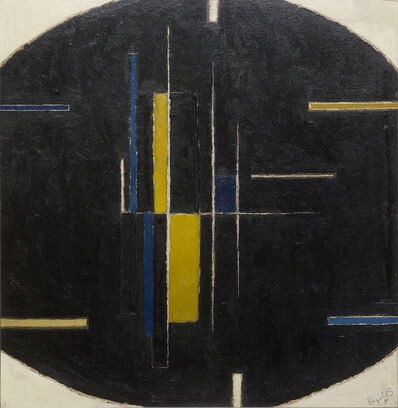 Alan Reynolds, 'Forms on an Ovoid', 1962