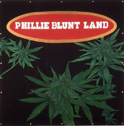 Gary Simmons, 'Phillie Blunt Land', 1993
