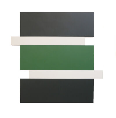 Scot Heywood, 'Stack – Black, Green, White', 2016