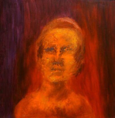 Sidney Nolan, 'Orange Head', 1964