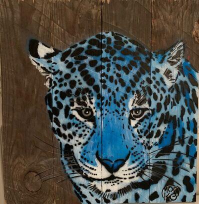 Mosko, 'Blue Panthere', 2019