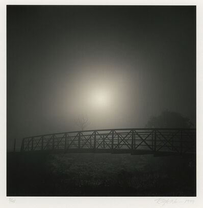 Rolfe Horn, 'Curving Bridge, Study 1, Heather Farms, CA', 1999