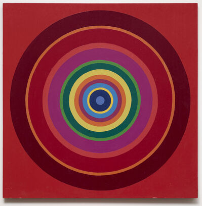 Poul Gernes, 'Untitled (target painting)', 1966-1969