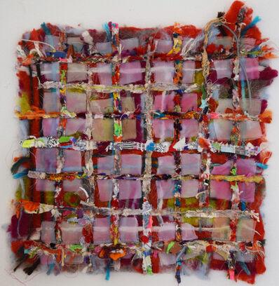 Alyson Vega, 'Wool and Bits Grid', 2018