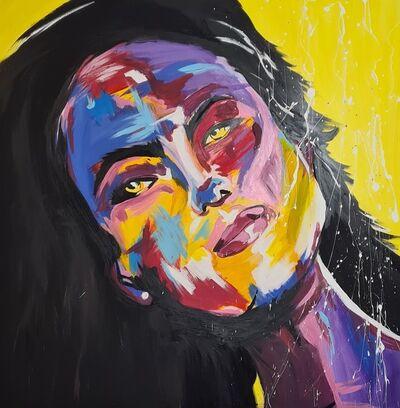 Daniela Zawada, 'Yellow Shades', 2021