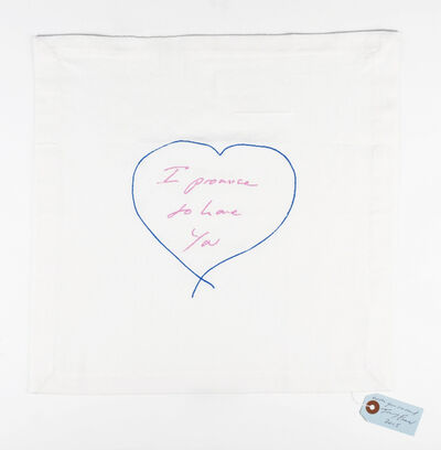 Tracey Emin, 'I Promise To Love You', 2015