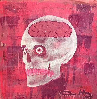 Al Baseer Holly (ABH), 'Pink Skull', 2018