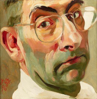 Johannes Grützke, 'Das eigene Gesicht', 1996