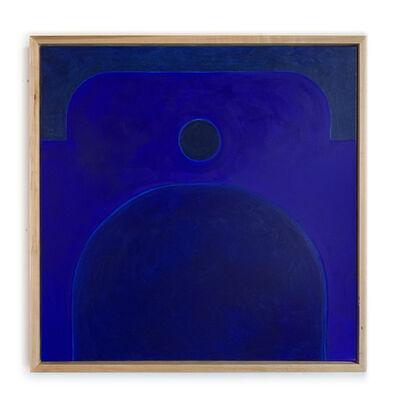 Carla Weeks, 'Monochrome Study in French Ultramarine', 2020