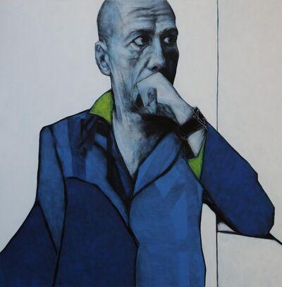 Andrzej Farfulowski, 'Señor anonimo del tren', 2019