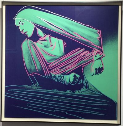 Andy Warhol, 'Lamentation (unique trial proof from the Martha Graham suite)', 1986