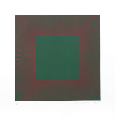 Richard Anuszkiewicz, 'Autumn Suite (Green with Red)', 1979