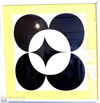 Yaacov Agam, 'Circles in yellow', 1980